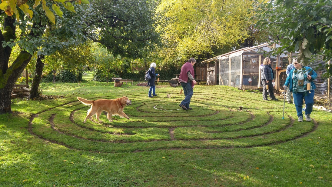Peace Labyrinth at Paint Life Laughing Studio